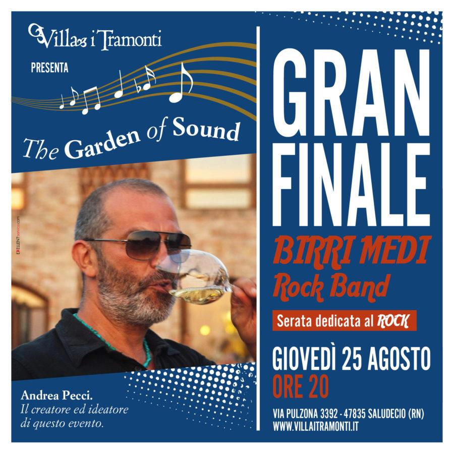 Gran Finale di Stagione – THE GARDEN OF SOUND